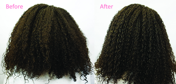 Damage Detox Before and After
